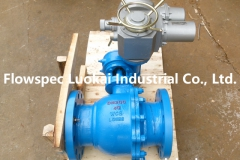 Flange Ball Valve With Electric Actuator-02