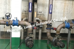 Pneumatic Wafer Butterfly Valve in Water Treatment