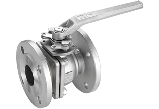 2PC Floating Ball Valve DIN Flanged