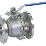 2PC Floating Ball Valve JIS Flanged