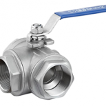 3 Way Ball Valve 1000WOG