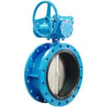 flanged butterfly valve rubber lined