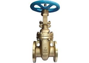 ANSI bronze flanged gate valve