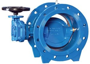 EN558-1 Double Flanged Butterfly Valve