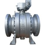 ANSI trunnion mounted ball valve