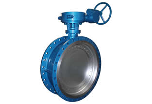 Flanged Triple Offset Butterfly Valve