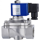 ZS 2 way large size solenoid valve stainless steel