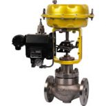 Pneumatic Cage Guided Globe Control Valve