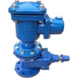 Double Orifice Air Valve with Isolation Valve