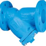 Flanged Y Strainer with Plug