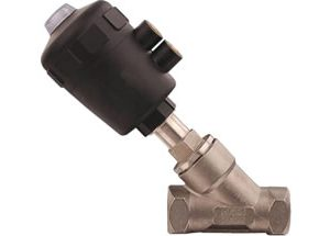 Pneumatic Angle Seat Valve Threaded Ends