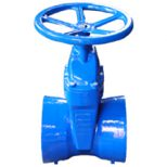 Socket Ends Resilient Gate Valve Iron Pipe