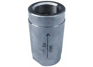 1PC SPRING VERTICAL CHECK VALVE IMAGE
