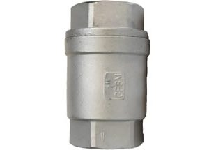 2PC SPRING VERTICAL CHECK VALVE IMAGE
