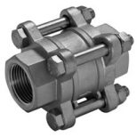 3PC SPRING VERTICAL CHECK VALVE IMAGE
