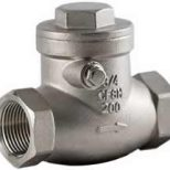 Swing Check Valve Threaded Ends Type