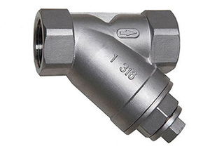 Y STRAINER THREADED END WITH PLUG IMAGE